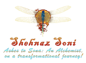 Logo, Shehnaz Soni, transformational coach